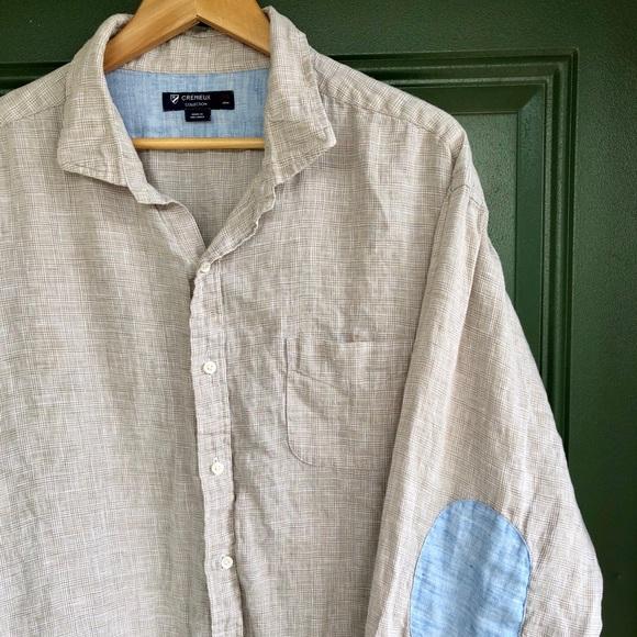 Daniel Cremieux Other - Daniel Cremieux linen shirt with elbow patches